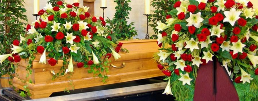 Trauerfeier und Beisetzung